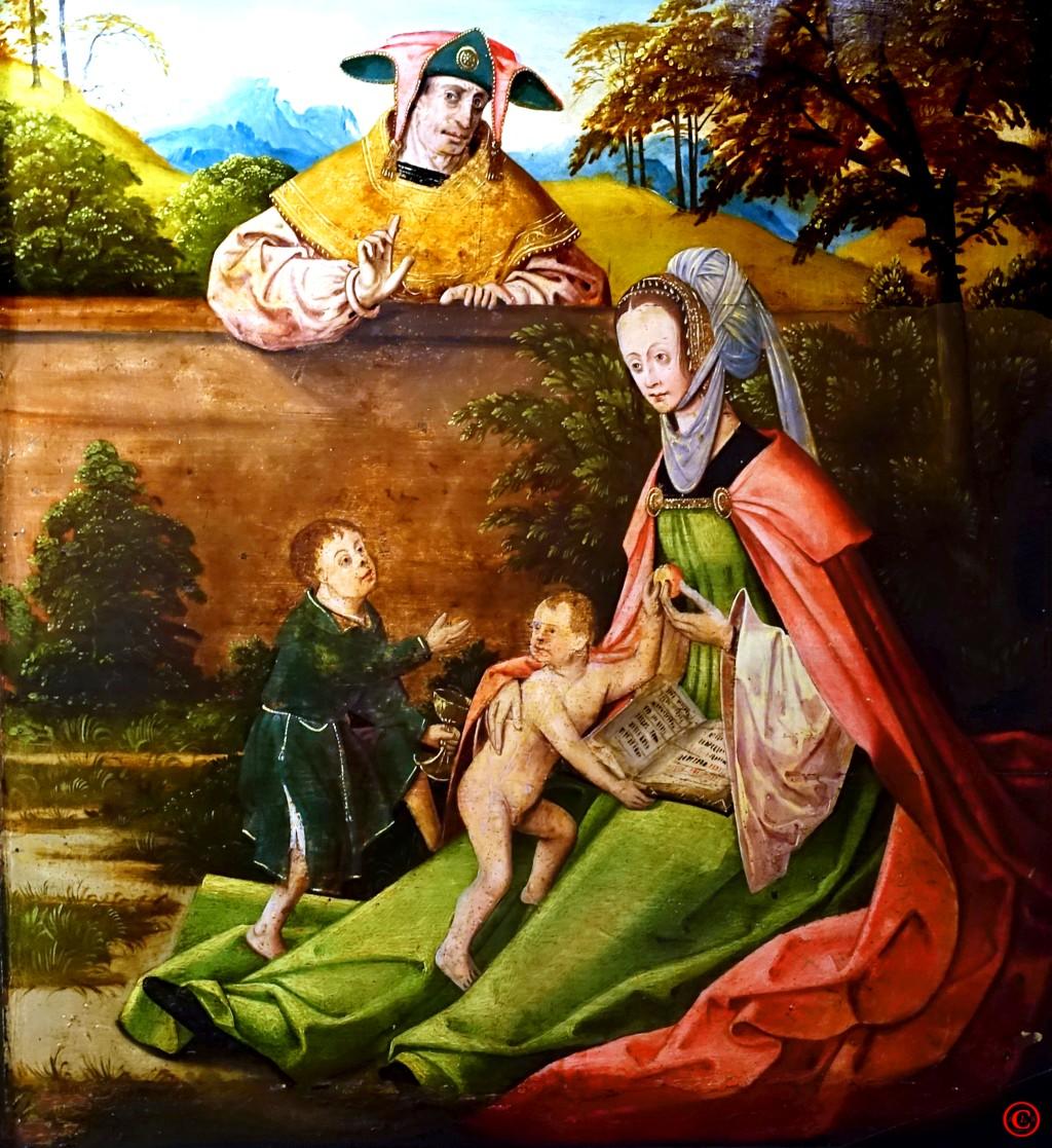 Sippe Jesu Rückseite Annenaltar 2